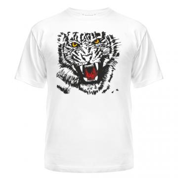 Футболка Тигр с клыками