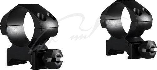 Кольца Hawke Precision Steel. d - 25.4 мм. Medium. Weaver/Picatinny