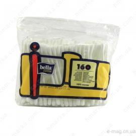 Ватные палочки 160шт пакет Белла