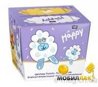 Салфетки сухие Baby Happy (40+40)