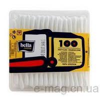 Ватные палочки 100шт пакет Белла