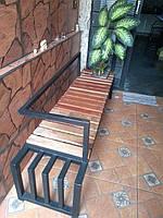 Уличная Скамейка в стиле LOFT (NS-970003632), вис-750мм, шир-400мм, довж-1600мм,
