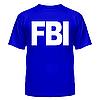 Майка мужские  FBI с нанесением надписей и рисунков на заказ, фото 6