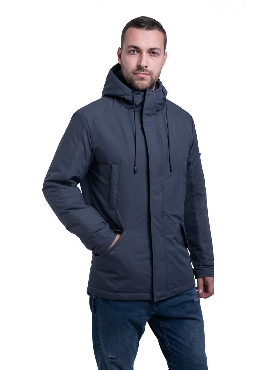Мужская куртка ветровка Riccardo Сити Серый