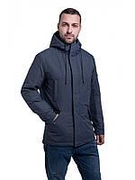 Мужская куртка ветровка Riccardo Сити Серый, фото 1