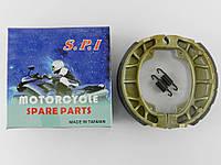 Колодки барабанного тормоза Honda Lead 50/90/Дельта/GY6-50/ 60/80/Альфа/Актив SPI (тайвань)