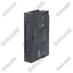 Модуль дискретного выхода Siemens 6ES7 132-4BD02-0AA0, 4DO, 24V/0.5A