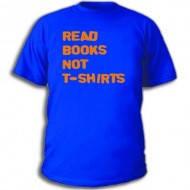 Футболка летняя унисекс с надписью Читайте книги, а не футболки