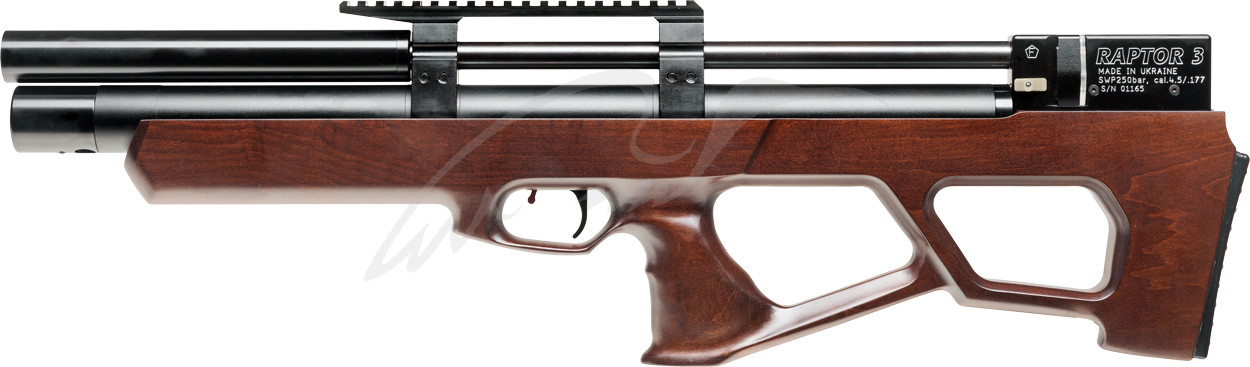 Винтовка пневматическая Raptor 3 Standart HP PCP кал. 4,5 мм. Цвет - коричневый