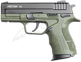 Пистолет стартовый Retay X1 кал. 9 мм. Цвет - olive.