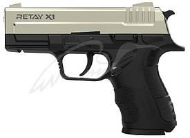 Пистолет стартовый Retay X1 кал. 9 мм. Цвет - satin.