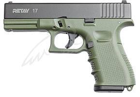 Пистолет стартовый Retay G17 кал. 9 мм. Цвет - olive.