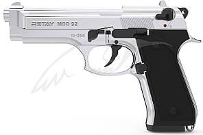 Пистолет стартовый Retay Mod.92 кал. 9 мм. Цвет - nickel.