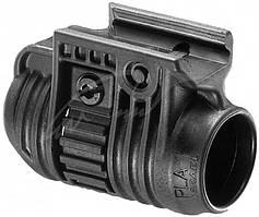 Крепление FAB Defense PLA. Цвет - черный. Диаметр - 28,6 мм (1 и 1/8 дюйма)