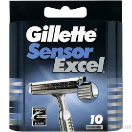 Картреджи Жиллет сенсор эксэль 10 шт в упакоке ( 1ш )