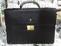 Папка-портфель MacBolo  из искусственной кожи темно-коричневая   20072