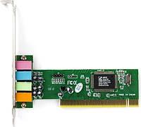 Звуковая карта C-Media 8738 4ch PCI