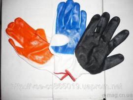 Перчатки Стреч/Прорезиненные