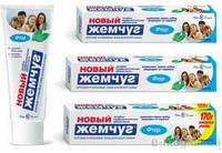 Новый жемчуг зубная паста 100мл Отбеливающая