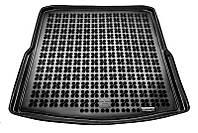 Коврик в багажник Skoda SuperB II (3T5) (универсал) 2009 - 2015 черные, полиуретановые (Rezaw-Plast, 231519) - штука