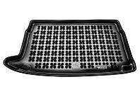 Коврик в багажник Vw Polo V (хэтчбек) 2009 - черные, полиуретановые (Rezaw-Plast, 231849) - штука
