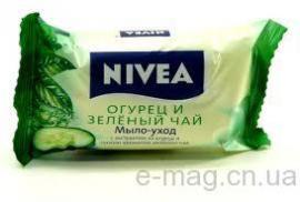 Мыло Нивея Зелёный чай 90гр