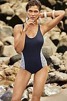 Сдельный купальник для женщин Amarea 20160 46 Синий Amarea 20160