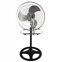 Вентилятор Rainberg  3в1 настольный напольный настенный из металла 70 Вт три скорости Original Чёрно-серый (FS-4531)