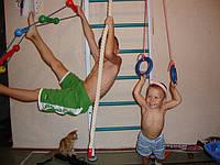 О пользе спортивного уголка для ребенка