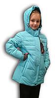 Куртка зимняя подростковая. Голубая. WHS. H308
