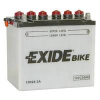 Аккумулятор Exide 12V 24AH/200A (12N24-3A)