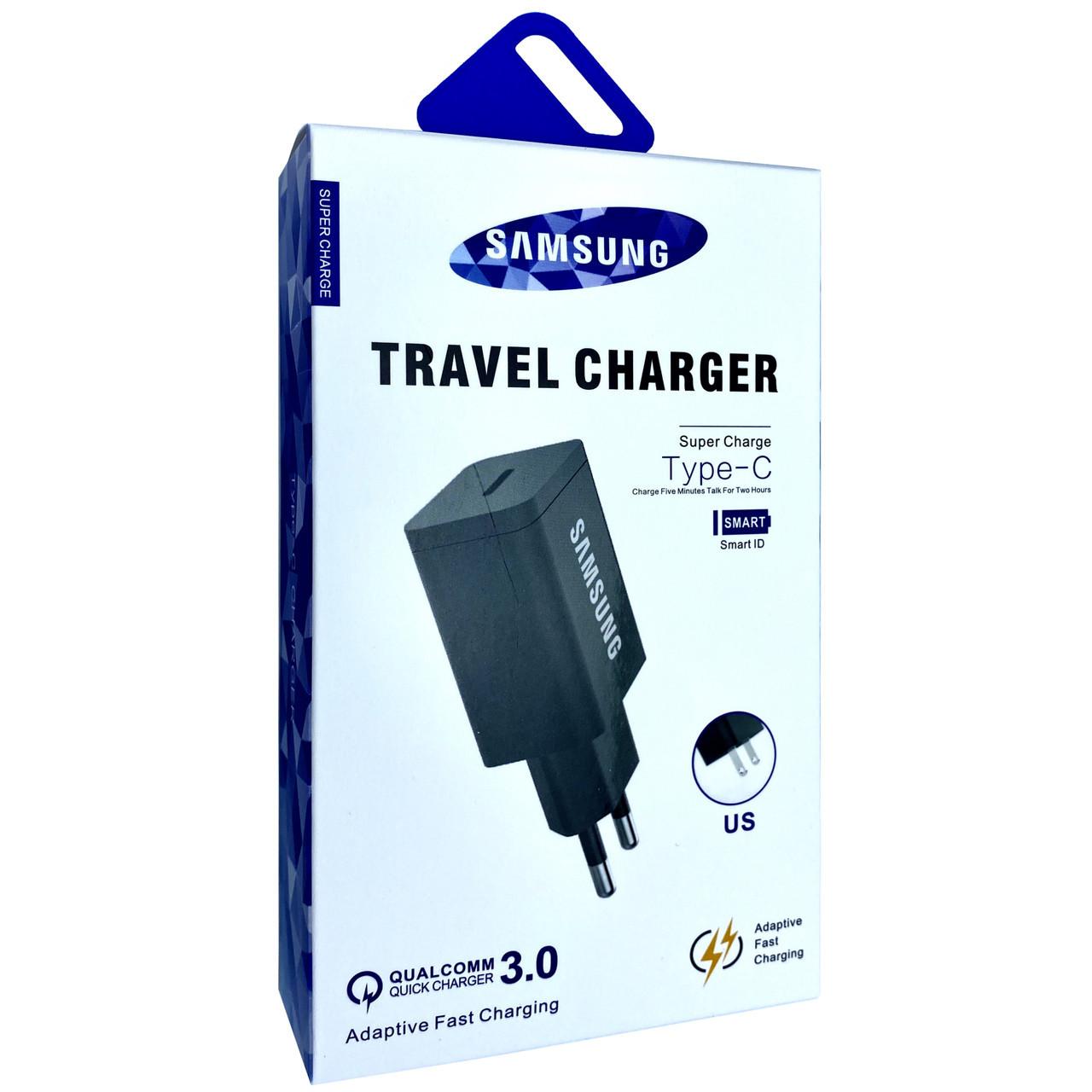 Зарядное устройство Samsung 18w PD Fast Charge Type-C (black)
