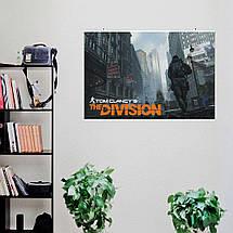 "Постер ""The Division. Чёрная пятница"". Дивизион, Том Клэнси. Размер 60x40см (A2). Глянцевая бумага, фото 3"