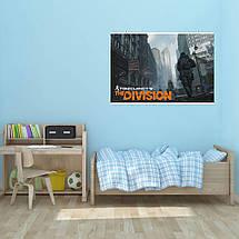 "Постер ""The Division. Чёрная пятница"". Дивизион, Том Клэнси. Размер 60x40см (A2). Глянцевая бумага, фото 2"