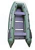 Надувная моторная килевая лодка Омега 330К