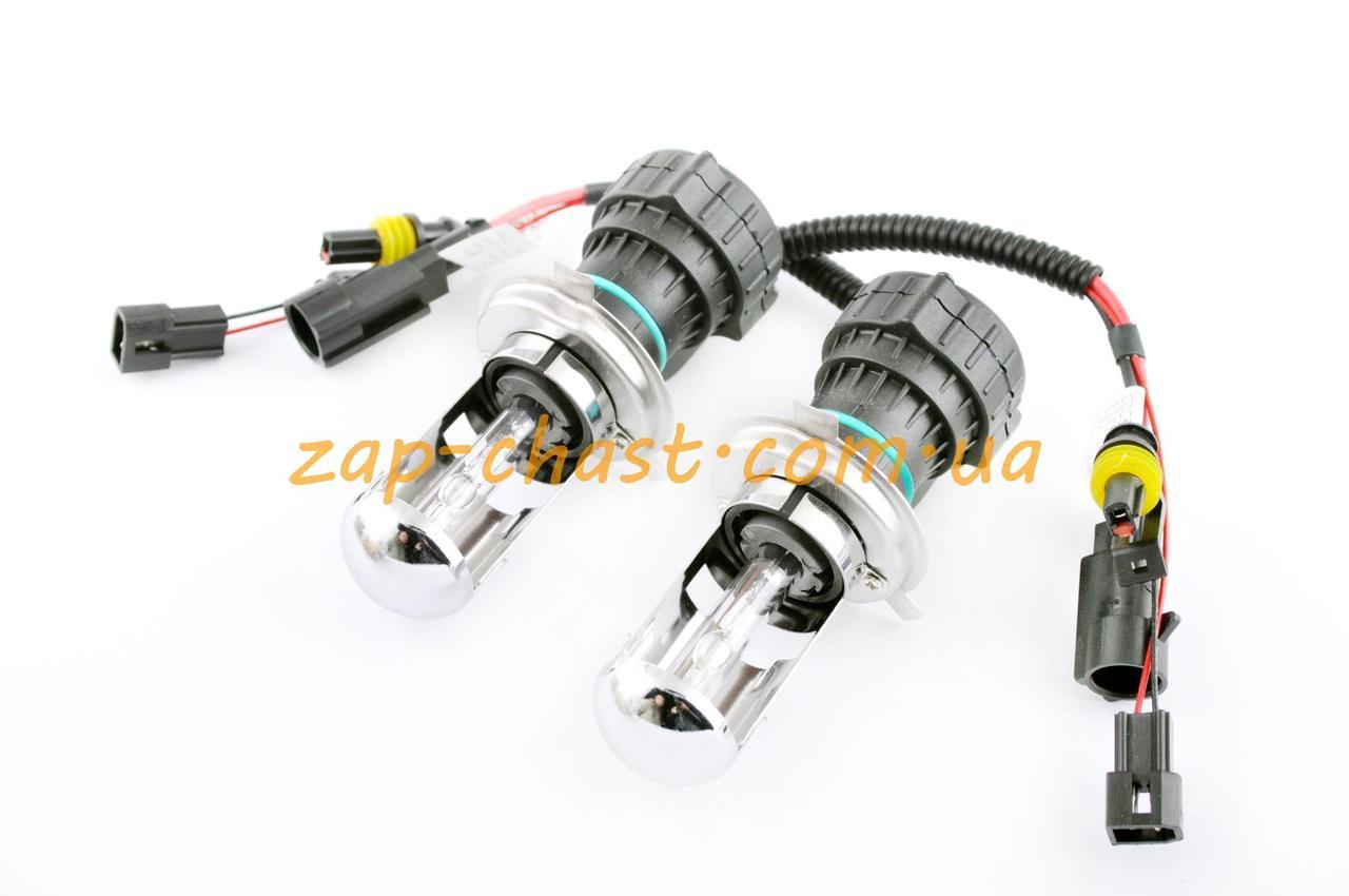 Лампы биксеноновые (пара)   H4 (12V 35W DC AMP)   4300K