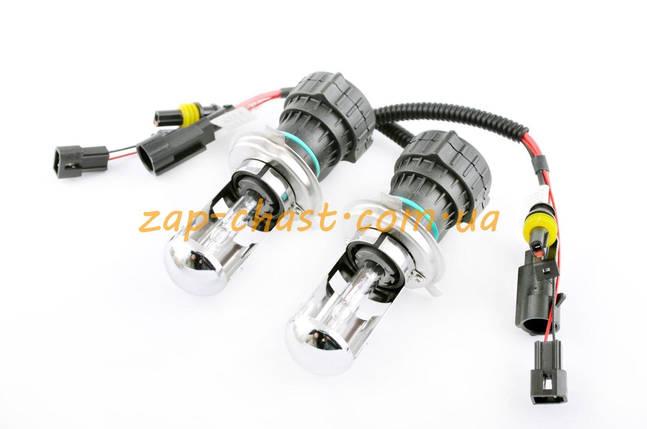 Лампы биксеноновые (пара)   H4 (12V 35W DC AMP)   4300K, фото 2