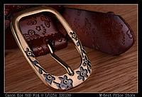 Женский кожаный ремень. Черный цвет. Арт. 802, фото 6