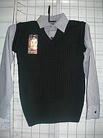 Рубашка подросток обманка мальчик m6617074