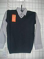 Рубашка подросток обманка мальчик m6617075