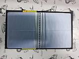 Визитница на 96 визиток Chengna NC-96B (по 2 шт. на странице), фото 3