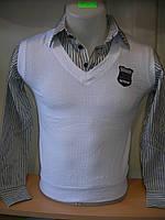 Рубашка подросток мальчик Турция (обманка) rz36506665