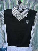 Рубашка подросток мальчик Турция (обманка) rz36506671