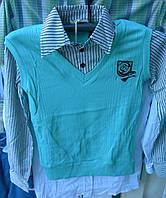 Рубашка подросток мальчик Турция (обманка) rz36506672