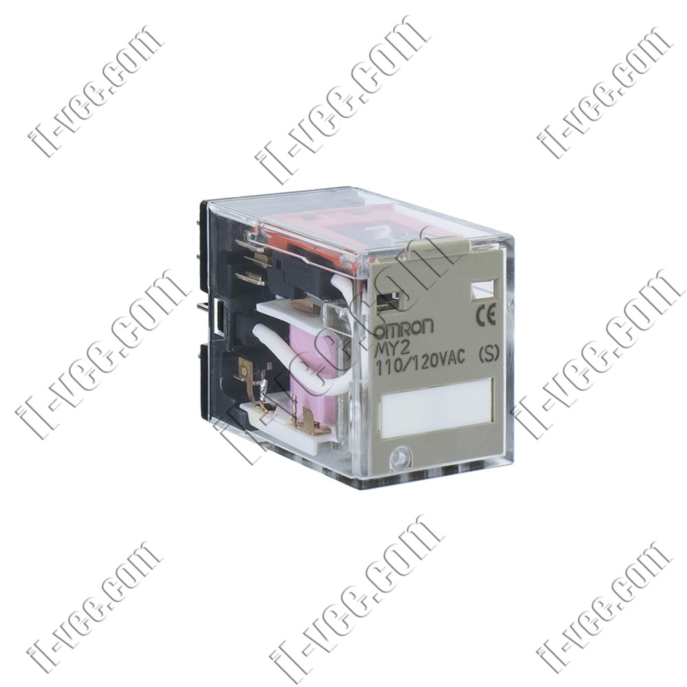 Реле OMRON MY2 110/120VAC, 10A/220VAC, 10A/24VDC