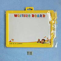 Заготовка для Бизиборда, Планшет с маркером для рисования +Саморезы, доска для рисования