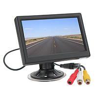 Автомобильный дисплей (экран, LCD) 4.3'' для двух камер
