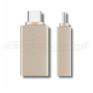 Переходник OTG USB 3.0 to Type-C (черный), фото 2