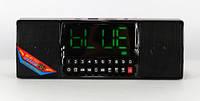 Портативна Bluetooth Колонка SPS WS 1515 BT+ Clock Музична Колонка Радіоприймач, фото 1
