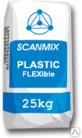 Scanmix Plastic Flexible (Сканмикс Пластик) клей для камня и плитки 25 кг., фото 1